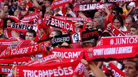 Фанаты Бенфики оригинально потроллили Порту, вспомнив 36-е чемпионство своей команды
