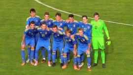 Сборная Украины U-16 разгромила ровесников из Черногории