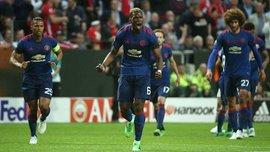 Аякс – Манчестер Юнайтед: Погба відкрив рахунок завдяки курйозному рикошету