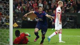 Аякс – Манчестер Юнайтед: гол Мхітаряна