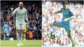 Кабальеро и Навас официально покидают Манчестер Сити