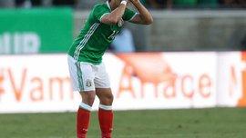 Чічаріто став найкращим бомбардиром в історії збірної Мексики