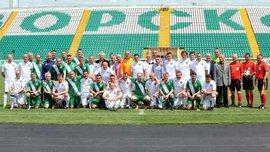 Ветерани Ворскли зіграли матч до 20-річчя здобуття бронзових медалей чемпіонату України