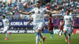 Уругвай U-20 здолав Португалію U-20 у драматичній серії пенальті і вийшов у 1/2 фіналу ЧС-2017