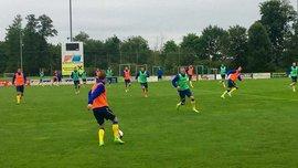 Сборная Украины провела первую тренировку после поражения от Мальты