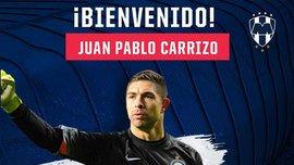 Каррисо официально стал игроком ФК Монтеррей