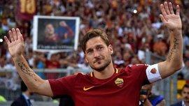 Тотти обещал специально не забить пенальти в своем последнем матче за Рому