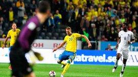 Швеция – Франция: Тойвонен забил с центра поля победный гол Льорису