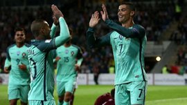 Латвия – Португалия – 0:3. Видео голов и обзор матча