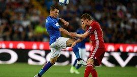 Отбор ЧМ-2018: Италия разбила Лихтенштейн, Уэльс упустил победу над Сербией