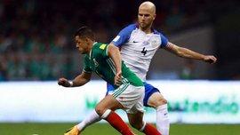 Полузащитник сборной США Брэдли забил классный гол в ворота Мексики