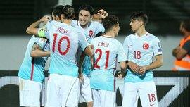 Косово – Турция – 1:4. Видео голов и обзор матча