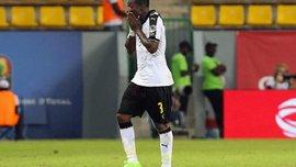Асамоа Гьян стал рекордсменом сборной Ганы, но создал своей команде проблемы из-за необычной капитанской повязки