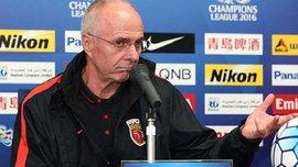 Эрикссон уволен с поста главного тренера Шеньчжень