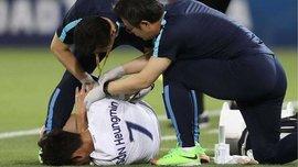 Хин Мин Сон сломал руку в матче Катар – Южная Корея