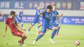 Оскар спровокував масову бійку в матчі чемпіонату Китаю