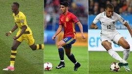 Топ-10 найдорожчих футболістів світу до 22-х років