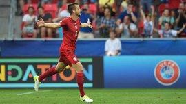 Гравець Чехії U-21 Люфтнер забив приголомшливий гол Доннаруммі на Євро-2017