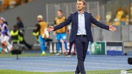 Ребров: У новий клуб я запросив своїх колишніх помічників з Динамо