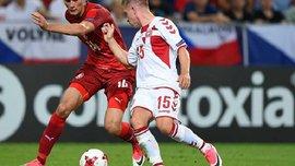 Данія U-21 впевнено перемогла Чехію U-21 на Євро-2017