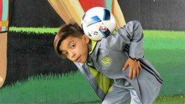 12-летний игрок Андерлехта Бунида поразил мир космическим дриблингом и голами