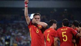 Испания U-21 благодаря хет-трику Ньигеса выбила Италию U-21 и вышла в финал Евро-2017