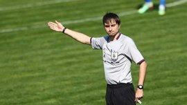 Украинский арбитр Балакин дебютирует в Лиге Европы