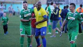 Ветераны Карпат в результативном матче победили ветеранскую сборную Бразилии