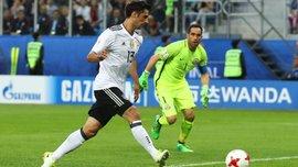 Германия – победитель Кубка Конфедераций-2017