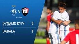 Динамо – Габала – 2:1 – Видео голов и обзор матча