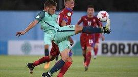 Португалія обіграла Чехію і достроково вийшла у півфінал Євро-2017 U-19