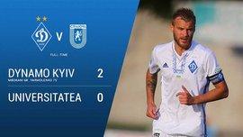 Динамо – Універсітатя – 2:0 – Відео голів та огляд матчу