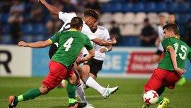 Германия разгромила Болгарию на Евро-2017 U-19