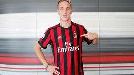 Конти – игрок Милана