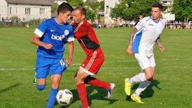 Фанати Дніпра влаштували бійку з охороною у матчі Кубка України проти Демні
