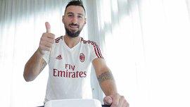 Антонио Доннарумма подписал контракт с Миланом