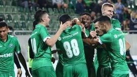 Лига чемпионов, второй квалификационный раунд: Жальгирис в меньшинстве сенсационно одолел Лудогорец с Пластуном и другие результаты