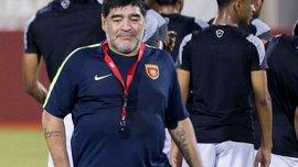 Марадона провел первую тренировку в команде Аль-Фуджайра