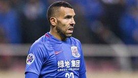 Тевес грубо сфолил против игрока Тяньцзинь Цюаньцзянь, а Пато забил фантастический гол