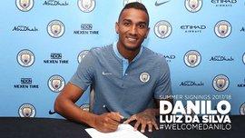 Данило перешел в Манчестер Сити
