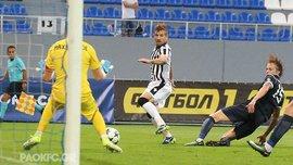 Олимпик – ПАОК – 1:1 – Видео голов и обзор матча