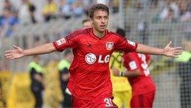 Юрченко забив за Байєр у ворота Лаціо в товариському матчі