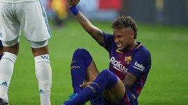Неймар после матча с Реалом на 15 минут зашел в раздевалку мадридцев и получил два подарка