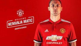 Матіч – гравець Манчестер Юнайтед