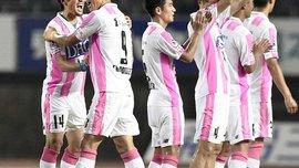 В Японии кореец Чо забил сумасшедший гол с центра поля от перекладины