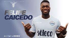 Кайседо – игрок Лацио