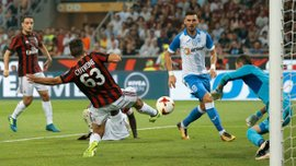 Лига Европы, третий квалификационный раунд: Лепа помог Осиеку пройти ПСВ, Милан переиграл Университатю Крайову, Эвертон победил и прошел дальше