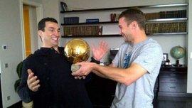Шевченко Владимир Кличко завершил одну из величайших карьер