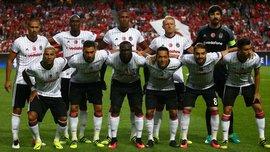 Фанаты бросили нож на поле в матче за Суперкубок Турции Бешикташ – Коньяспор