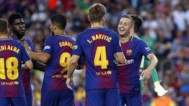 Барселона разгромила Шапекоэнсе в матче за Кубок Гампера